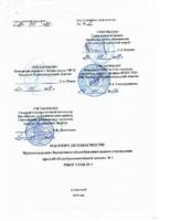Паспорт безопасности ГЛАВНЫЙ КОРПУС