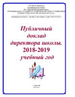 Публичный доклад 2019
