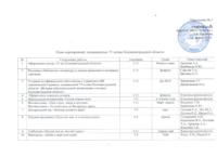 План мероприятий, посвящённых 75-летию Калининградской области